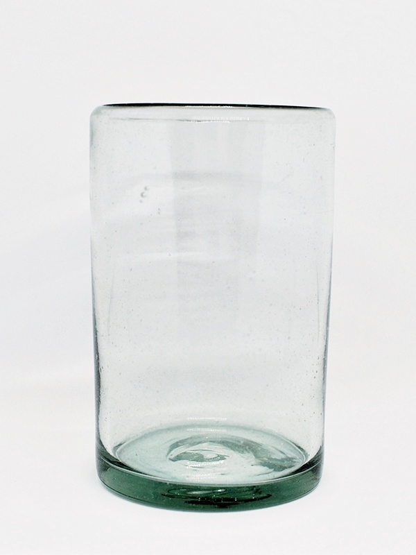 Clear drinking glasses (set of 6)