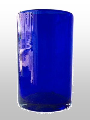 MEXICAN GLASSWARE / Cobalt-Blue-drinking-glass