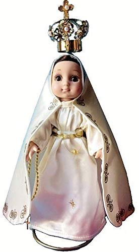 MARIA CONTIGO / Our Lady of Fatima 10'' Doll with Rosary